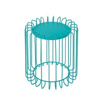 Mcnemar End Table Color: Matte Teal