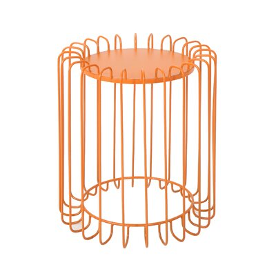Mcnemar End Table Color: Orange