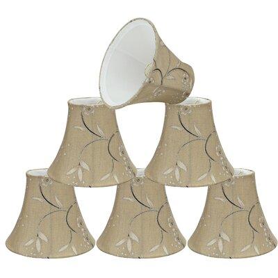 Tranditional Design 6 Linen Bell Candelabra Shade
