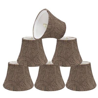 Eclectic Design 5 Linen Bell Candelabra shade
