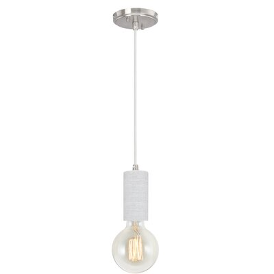 Greenough Adjustable 1-Light Mini Pendant Size: 67.5 H x 4.5 W x 4.5 D