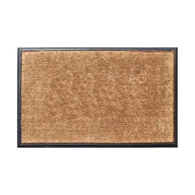Galan Rubber and Coir Molded Double Doormat