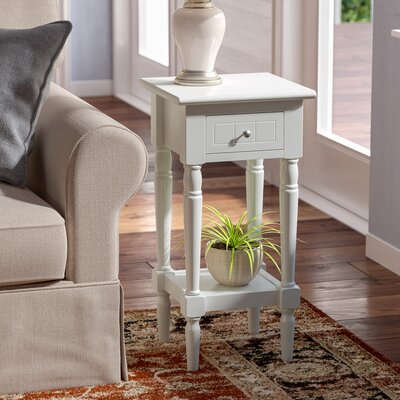Axtell End Table With Storage� Color: White
