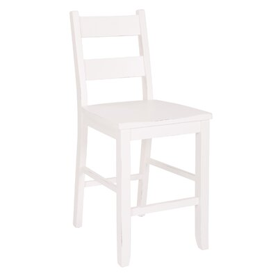 Pointer Kitchen 24 Bar Stool Color: White