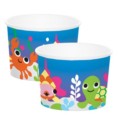 Ocean Bull Paper 8 Piece Ice Cream Kit Set 333023