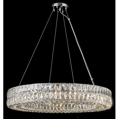 Sibdon 16-Light Crystal Pendant