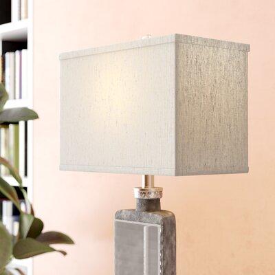 14 Linen Rectangular Lamp Shade Color: Oatmeal