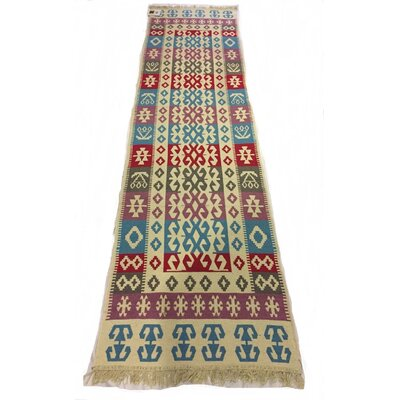 Swafford Double Sided Blue/Purple Indoor/Outdoor Area Rug