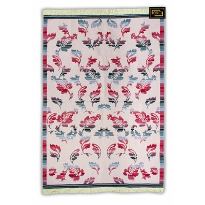 Accent Double Sided Red/Pink Indoor/Outdoor Area Rug