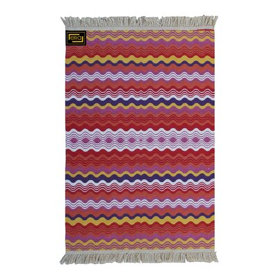 Accent Double Sided Red Indoor/Outdoor Area Rug
