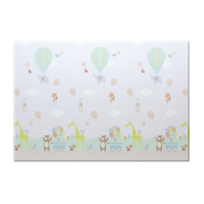 Hot Air Balloon Alphabets Floor Mat