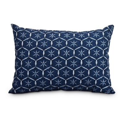 Pankratz Tufted Abstract Decorative Indoor/Outdoor Lumbar Pillow