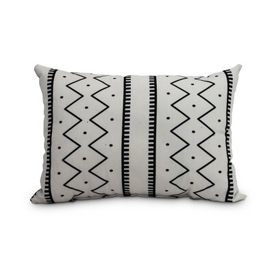 Odaniel Mudcloth Abstract Decorative Indoor/Outdoor Lumbar Pillow