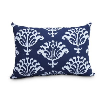 Queanbeyan Ikat Decorative Indoor/Outdoor Lumbar Pillow