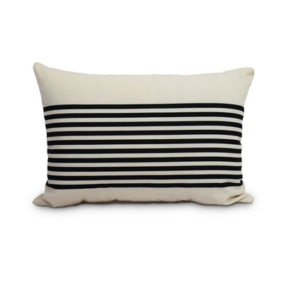 Fegan Striped Print Indoor/Outdoor Lumbar Pillow