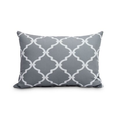 Feeney Decorative Trellis Print Indoor/Outdoor Lumbar Pillow