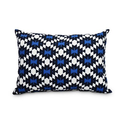 Thibaud Decorative Abstract Indoor/Outdoor Lumbar Pillow