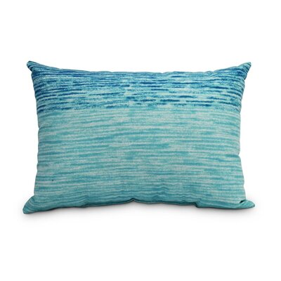 Eich Ocean View Decorative Abstract Indoor/Outdoor Lumbar Pillow