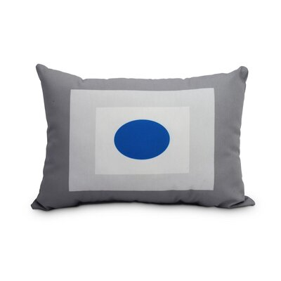 Gamez Decorative Geometric Indoor/Outdoor Lumbar Pillow