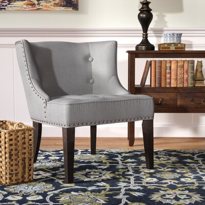 Staas Barrel Chair Upholstery: Gray
