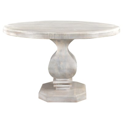 Maliyah Pedestal Dining Table Color: Lime, Size: 30 H x 48 D x 48 W