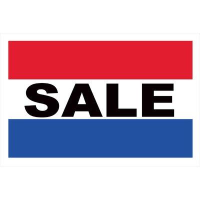 Sale Banner Size: 24 H x 36 W x 0.18 D