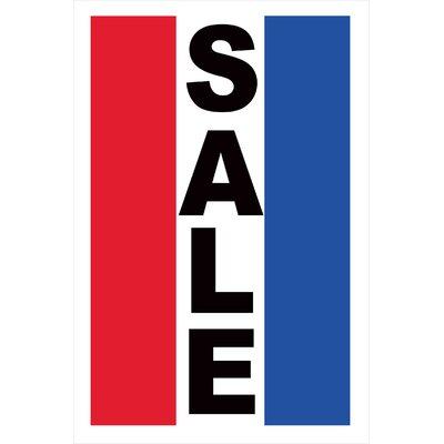 Sale Vertical Banner Size: 36 H x 24 W x 0.18 D
