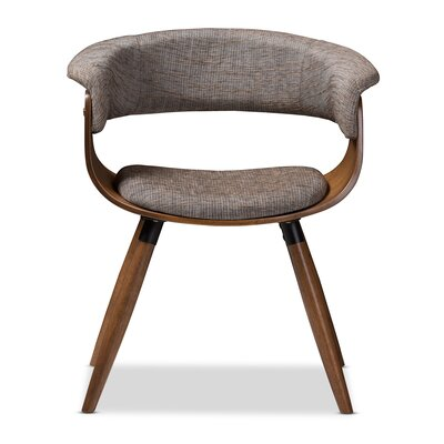 Cronk Mid-Century Upholstered Dining Chair