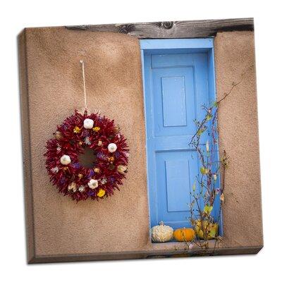 'Blue Door II' Photographic Print on Wrapped Canvas E04E7C5064AB467E9915EC7276983B34
