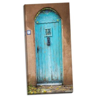 'Blue Door III' Photographic Print on Wrapped Canvas F50E728818B44B93B2DD5694F3F01A0F