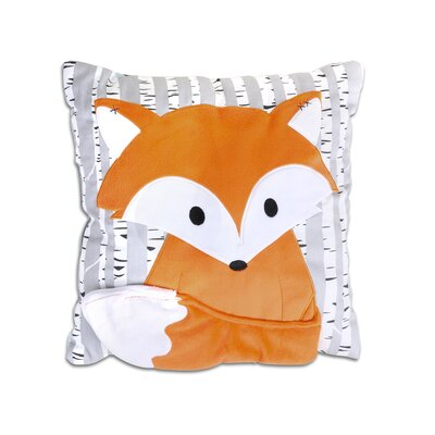 Woodland Dreams Fox Throw Pillow