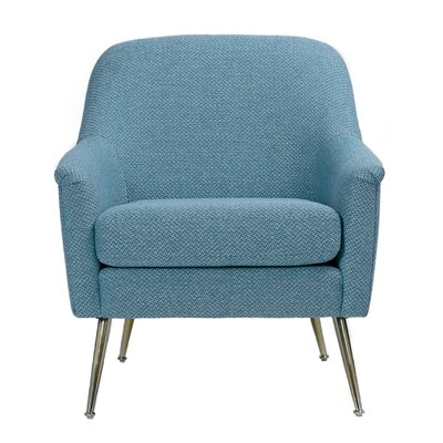 Crose Accent Armchair Upholstery: Blue