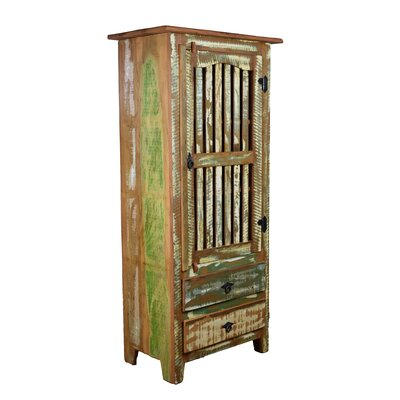Hambly Distressed China Cabinet