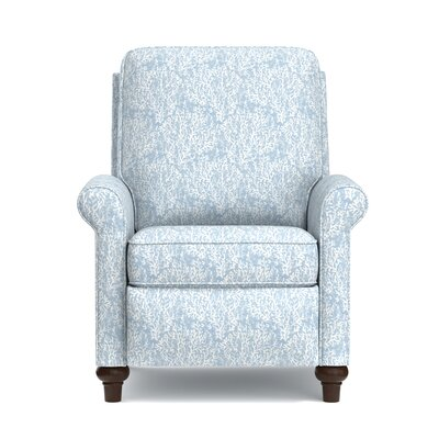 Gilland Recliner Upholstery: Blue Coral