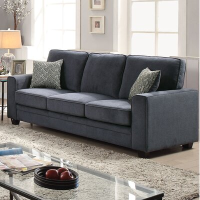 Lueras Sleeper Sofa Upholstery: Blue