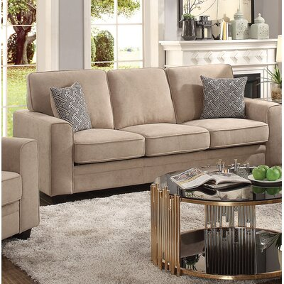 Lueras Sleeper Sofa Upholstery: Khaki