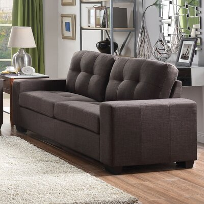 Marrufo Sofa Upholstery: Charcoal