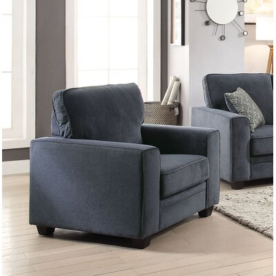Lueras Armchair Upholstery: Blue