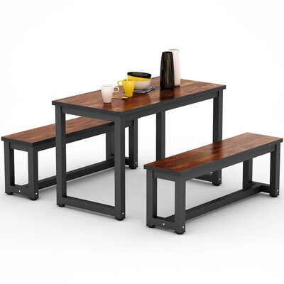 Mcanulty 3 Piece Dining Set