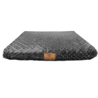 Orthopedic Dog Pad Size: Small (19 W x 24 D x 3 H), Color: Dark Gray