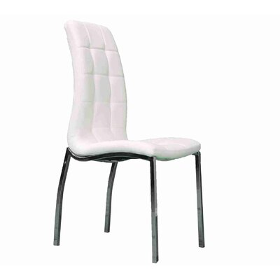 Stroman Upholstered Dining Chair Upholstery Color: White