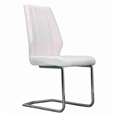 Stryker Upholstered Dining Chair Upholstery Color: White