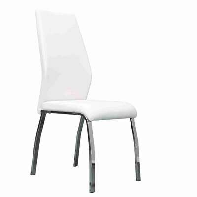 Stubblefield Upholstered Dining Chair Upholstery Color: White