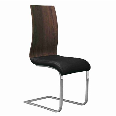 Stuber Dining Chair Upholstery Color: Black