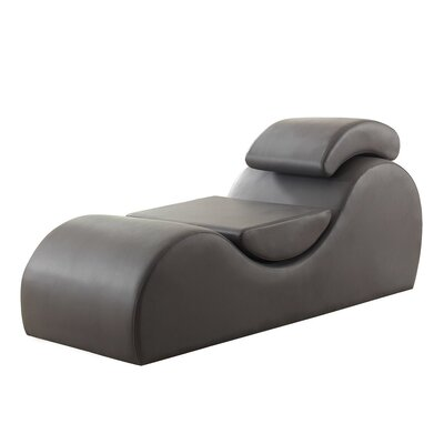 Studer Chaise Lounge Upholstery: Gray