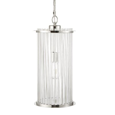 Beckton Glass 1-Light Drum Pendant