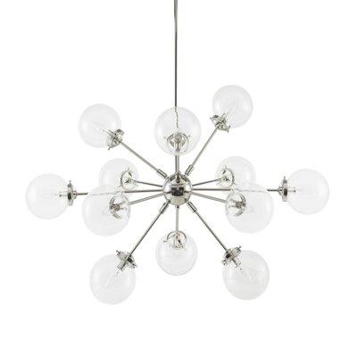 Binette 12-Light Sputnik Chandelier