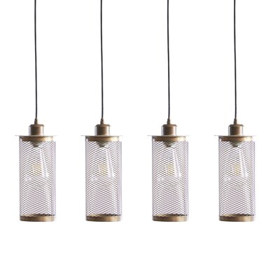 Henton 4-Light Kitchen Island Pendant