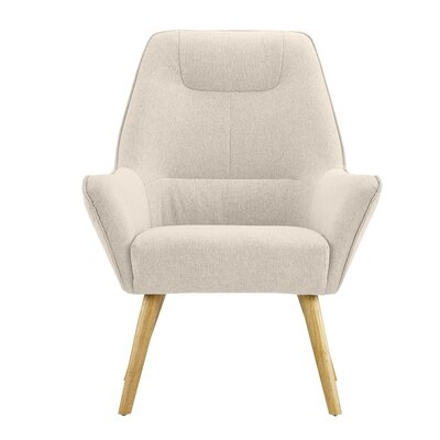 Downie Living Room Accent Armchair Upholstery: Beige