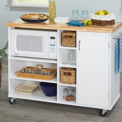 Drolet Microwave Cart Base Finish: White